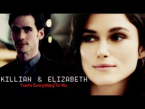 Killian&Elizabeth • You're everything to me (AU)