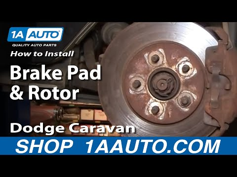 on 2008 Dodge Grand Caravan Rotors