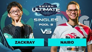 zackray vs Nairo - Singles Pool B: Round 3 - Smash Ultimate Summit