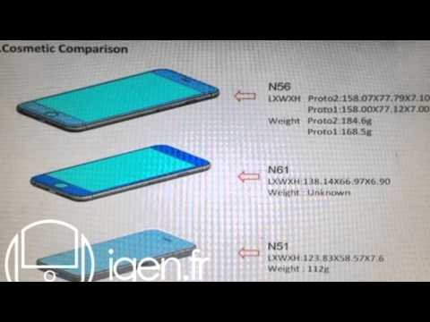 NEW Apple iPhone 6 Size & Dimensions Leaked