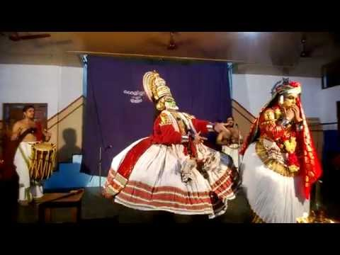 Kathakali (traditional Classical Dance Of Kerala, India) Story: Narakasuravadham video