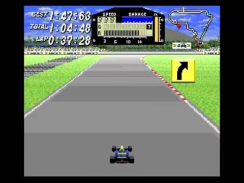 Race #1304 (of 5008?) in my 2012 BPISPORTS.COM Man v. Game challenge on the Super Nintendo Entertainment System's F1 ROC: Race of Champions (known in Japan a...