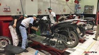Tin nhanh 24/7 - Kinh nghiệm chăm sóc xe máy đúng cách để đón Tết.