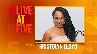 Broadway.com #LiveatFive with Kristolyn Lloyd of DEAR EVAN HANSEN