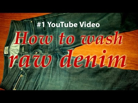 How To Wash Your Raw Denim Jeans - Part 1 - Naked and Famous, APC, Nudies