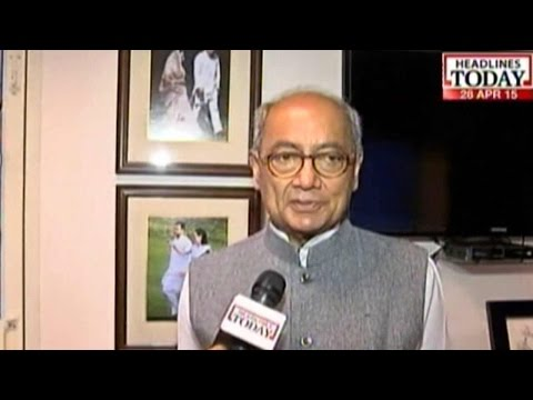Digvijay Singh Stands By His Allegations Against Shivraj In Vyapam Scam
