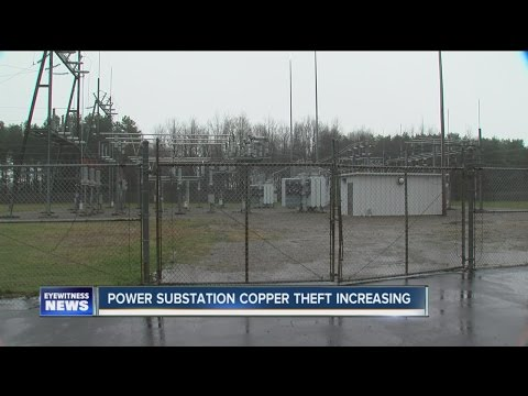 Copper theft at power substations is increasing in Erie and Wyoming Counties