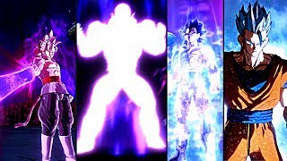 NEW ANIMATED TRANSFORMATIONS 2018! DRAGON BALL XENOVERSE 2 All NEW Custom Character Transformations