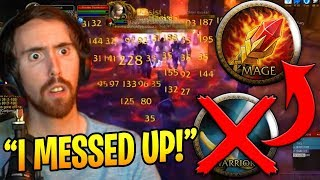 Asmongold Realizes He Rolled The WRONG Class! (WoW Classic Funny Moments #16)