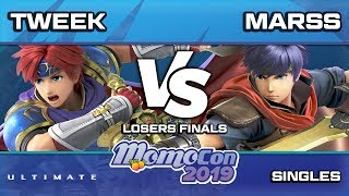 Momocon 2019 SSBU - TSM | Tweek vs PG | Marss | Losers Finals