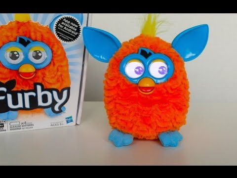 Furby Unboxing Review