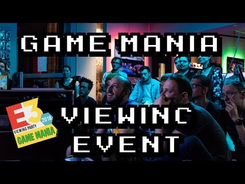 Game Mania E3 2018 Viewing Event Game Mania Antwerpen