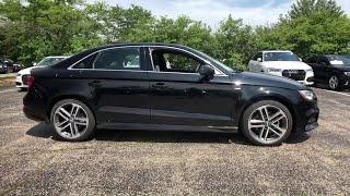 2018 Audi A3 Sedan Lake forest, Highland Park, Chicago, Morton Grove, Northbrook, IL A182525