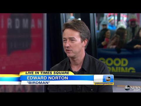 Edward Norton Takes on Dark Comedy in 'Birdman'
