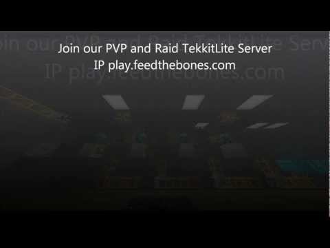 Welcome To our  24/7 dedicated strategical PVP / Raiding TekkitLite Server
