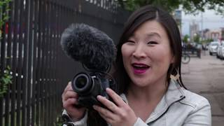 Vlogging with Traveling Jules and Canon's EOS M50 camera