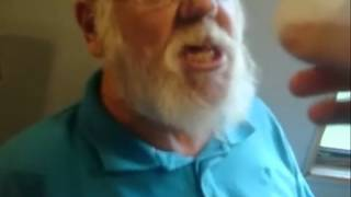 Angry Grandpa falls for the egg prank