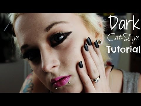 Dark Cat Eye Tutorial