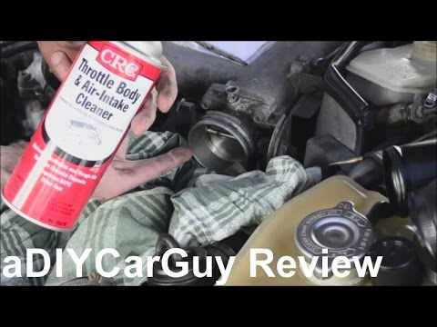 How To Clean Throttle Body - CRC Throttle Body and Air Intake Cleaner Review - Porsche 944 Turbo