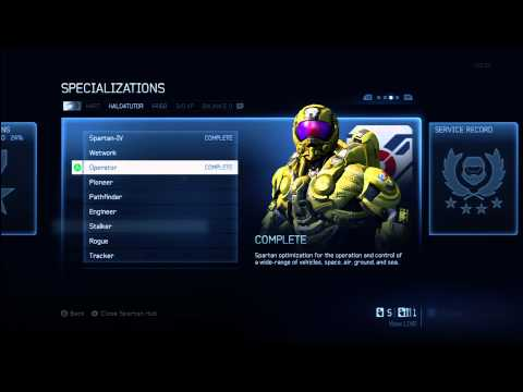 Halo 4 Tips & Tricks | Operator Specialization Details | Unlock Armor & Wheelman Tactical Package