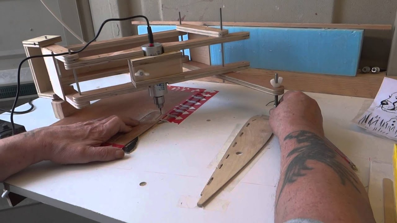 A Model Makers Pantograph Router Youtube