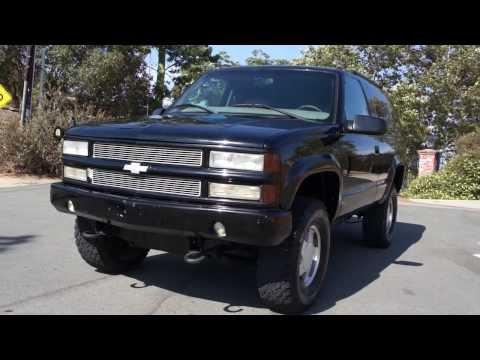 2 Owner 1999 Chevy Chevrolet Tahoe Yukon