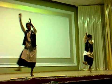 punjabi dance by imran & prasant - dhol wajda - russia.mp4