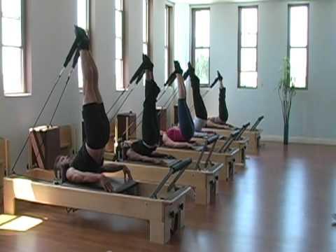 Viva Pilates Studio Reformer Exercises Youtube