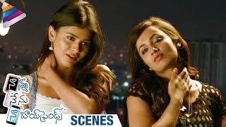 Nanna Nenu Naa Boyfriends Movie Scenes   Hebah Patel Imitates Pawan Kalyan   Telugu Filmnagar
