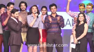 Jiiva And Kajal Aggarwal At ITC Fashion Show