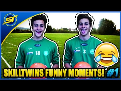 SkillTwins FUNNY Moments: Fails, Bloopers, Laughs & Outtakes!