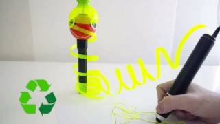 Renegade is a 3D-Printing Pen that works by recyling Plastic Bottles, Files and Bags