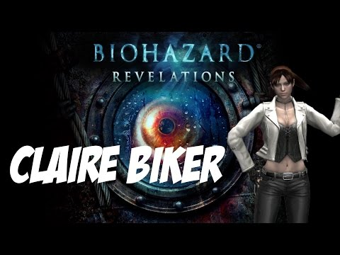 Resident Evil Revelations Mods - Claire Redfield Biker