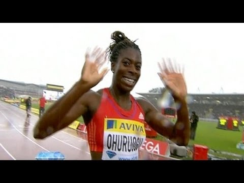 Ohuruogu beats Montsho in 400m - Universal Sports