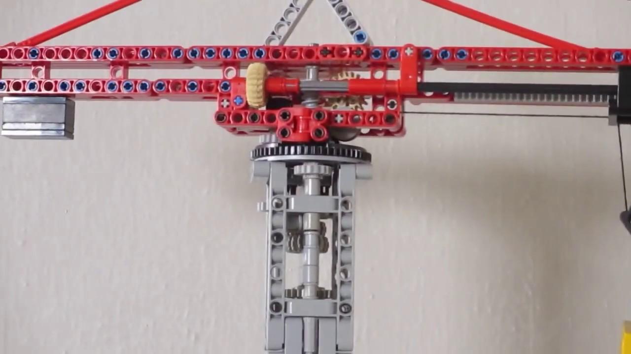 Lego Tower Crane Lego Motorized Tower Crane