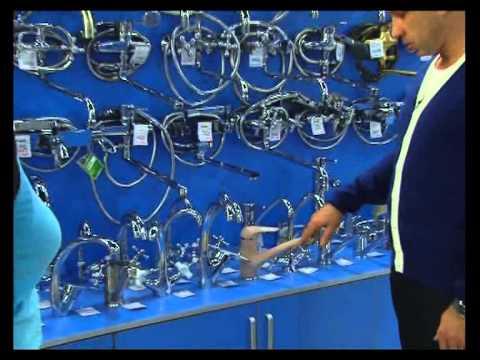 Видео как выбрать смеситель
