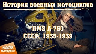 "PMZ-A-750 (USSR) Trial by ""The Motorworld by V.Sheyanov"" (Russia)"