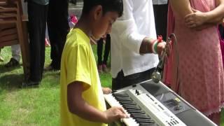 Har karam apna karenge on keyboard by Siddhant Sharma