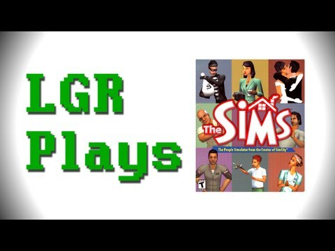 LGR Plays - The Sims (2000)