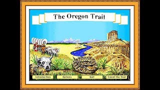 The Oregon Trail - MECC - DosBox - High Score PB: 9,394