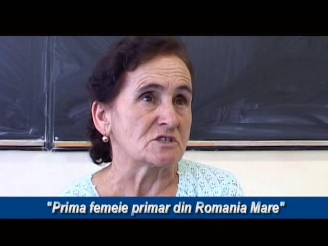 PRIMA FEMEIE PRIMAR DIN ROMANIA MARE