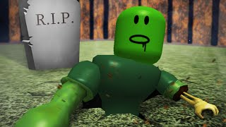 Roblox Adventures / Escape the Haunted Cemetery Obby /ed by Evil Zombies!