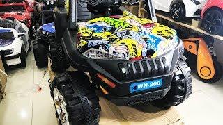 Xe ô tô điện trẻ em Jeep địa hình WN-206 (Xe cho bé)