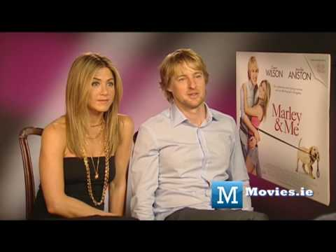 Owen Wilson & Jennifer Aniston talk Marley & Me, Leprechaun, Friends, Fockers & More Video