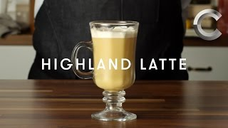 How to Make a Weed Highland Latte