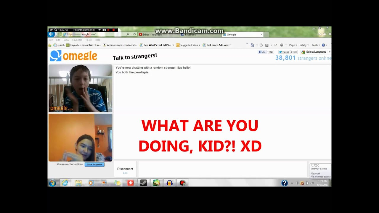omegle video chat relaxing nude massage