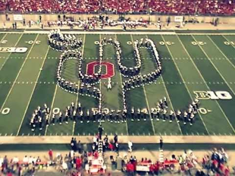Ohio State University Marching Band Country Western Halftime 9/28/13 Wisconsin