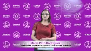 Somos Alcalá  Candidat@s   María Pato Rodriguez
