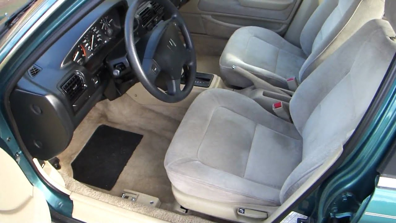 1993 Honda Accord Goes For A Test Drive Youtube