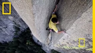 Bonus: Free Soloing with Alex Honnold | Nat Geo Live